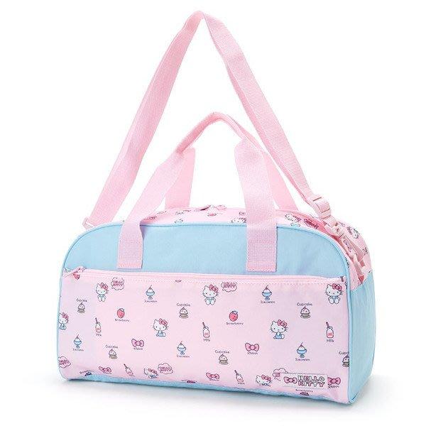 代購現貨 日本三麗鷗HELLO KITTY粉紅草莓牛奶冰淇淋 2用波士頓包