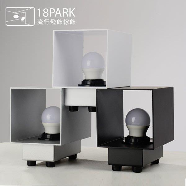 【18Park 】直接簡約 Monocular [ 方筒燈-升級版 ]