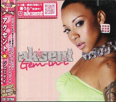 K - Ak'SenT - GEM-IN-I - 日版 CD+VIDEO  AkSenT - NEW