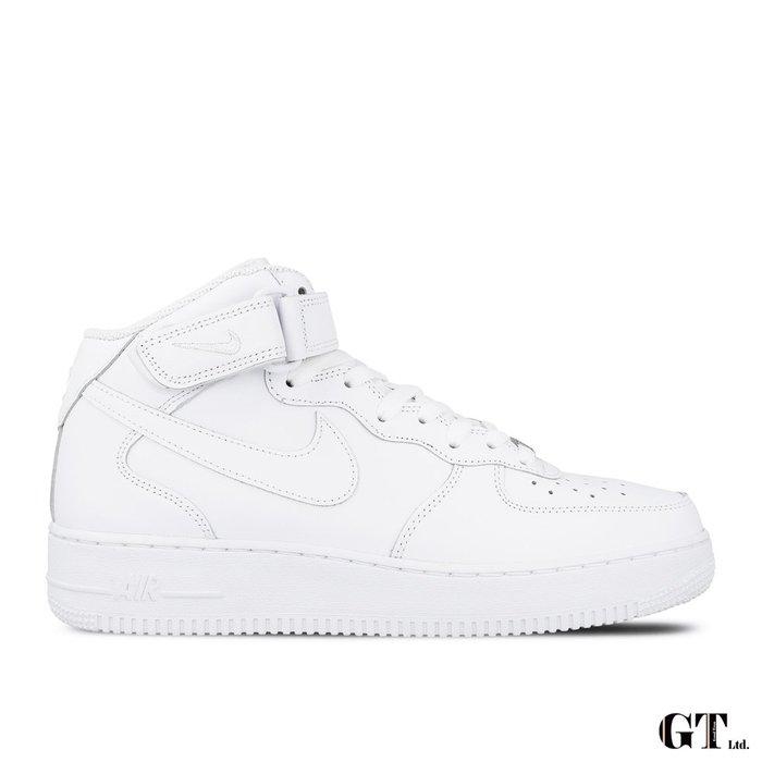 【GT】Nike Air Force 1 Mid '07 白 男鞋 高筒 鐵牌 運動鞋 休閒鞋 315123-111