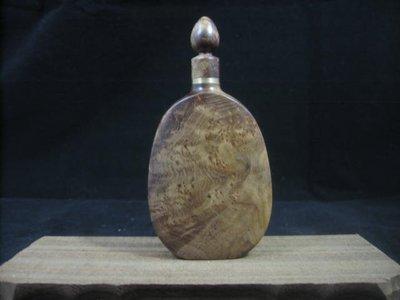 麻梨疙瘩.鼻煙壺.滿瘤花精品.收藏.把玩.....2.1x5.8x11.2cm--395