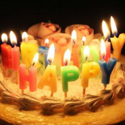 生日蠟燭 Happy Birthday 生日派對 蛋糕蠟燭-艾發現