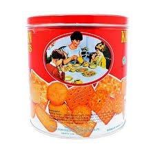 康元綜合餅乾KHONG GUAN ASSORTED BISCUITS KALENG KECIL 700g FB01009