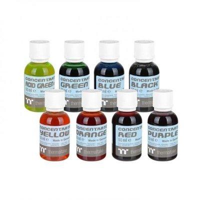 [米特3C數位] 曜越 Premium Concentrate水冷濃縮液 螢光綠/黑/藍/暗綠/橘/紫/黃/紅/冰藍