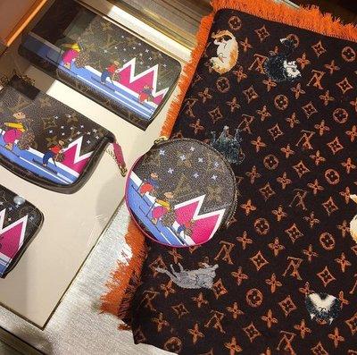 LV MP2265 CATOGRAM MONOGRAM SHAWL 貓咪披肩 焦糖