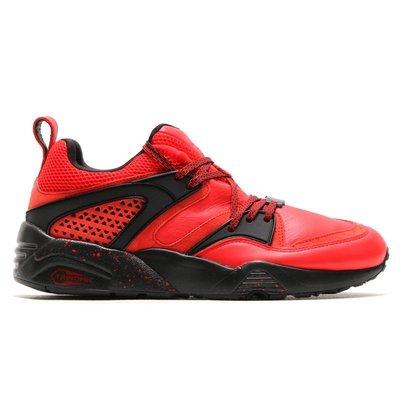 PUMA × RED RISE BLAZE OF GLORY HIGH RISK RED紅黑武士紅潑墨360999-01