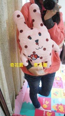 奇花園日本AKB48熱愛CRAFTHOLIC宇宙人很柔的質感濃情草莓可可兔造型寶貝抱枕,娃娃生日禮,情人節/聖誕