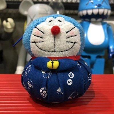 【Mickey Mouse】含運 香港 DING DONG宅配便 郵局限定版 哆啦A夢毛公仔掛件 藍色 現貨