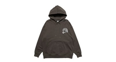 M全新正品 AES Washed Skull Logo Hoodie 黑色咖啡色 帽T 新北市