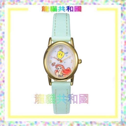 最新2017年 日本東京迪士尼Disney《Ariel小美人魚艾麗兒艾莉兒 手錶》【日本正版】生日情人聖誕節禮物