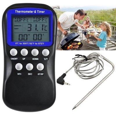 高低溫警報 報警 溫度計 探針式 電子溫度計 溫度報警器 溫度警報功能 -50~300度 焗烤烘焙 油鍋油溫 煮糖 烤箱