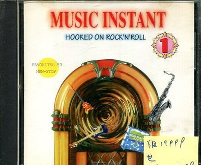 *真音樂* MUSIC INSTANT / HOOKED ON ROCK'N'ROLL 二手 K17999