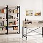 HT423- 2+3 斯卡盧橡木白4尺書桌*