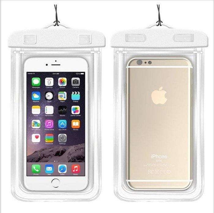 觸屏通用Iphone6plus蘋果三星小米華為手機通用游泳防水袋潛水套