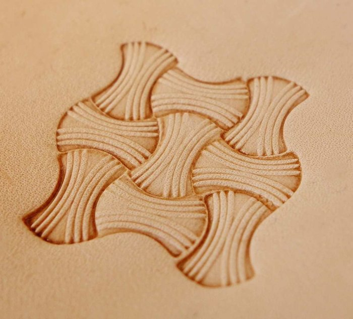 老約翰 鋼製 精細手雕 打印工具 印花工具 皮雕工具 皮革五金 皮雕材料
