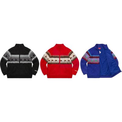 【紐約范特西】預購 Supreme FW20 Chullo WINDSTOPPER Zip Up Sweater 針織外