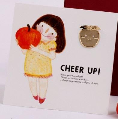 【象牙cute ta】韓國 Bookfriends book mark -  Apple Girl  書的朋友書籤 蘋果女孩