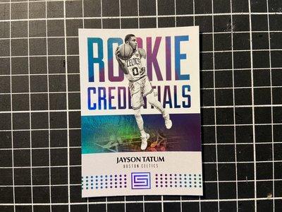 jayson tatum status rookie credentials rc 新人卡