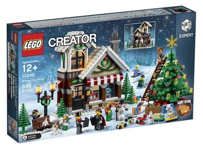 全新現貨 10249 LEGO Creator Winter Toy Shop