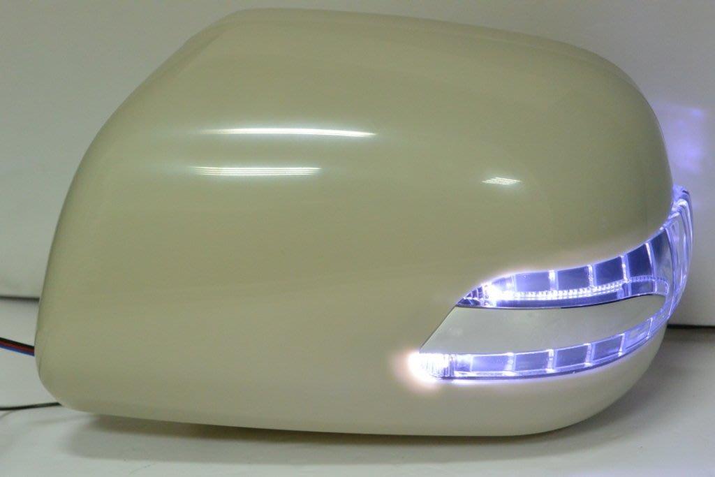 金強車業TOYOTA INNOVA 2004-ON  雙功能後視鏡(素材NP) +殼附照地燈+電折組 方向燈 小燈