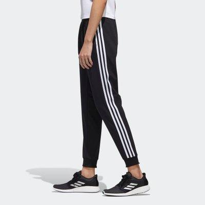 南◇2020 9月 Adidas MUST HAVE 針織 運動褲 GF0112 黑 白色 縮口 縮口 休閒運動長褲