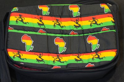 【甲殼哥】非洲『手工花布大側背包』獨一無二商品