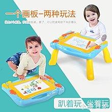 彩色磁性畫板幼兒童磁性寶寶寫字板嬰兒小黑板--歲涂鴉板玩具❣卡爾旗艦店