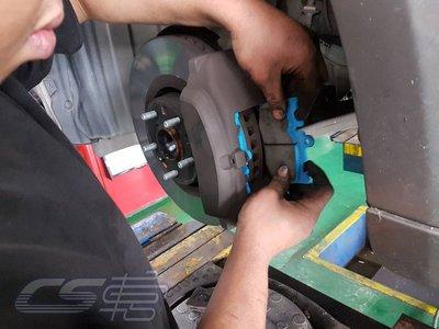 CS 車宮車業 LEXUS IS 200t 16- 更換 JC BRAKE 前 來令片 煞車皮 凌雲版
