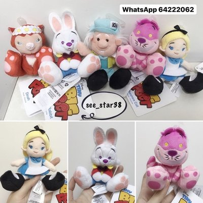 Alice in Wonderland Alice, Cheshire Cat, White Rabbit, Mad Hatter Dinah big feet