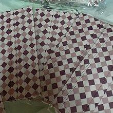 紫色格子口罩5片各別包裝