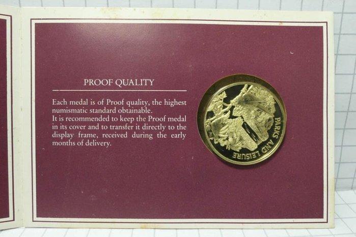 新加坡 1984年1965-1985年 獨立20年紀念 銀章 紀念幣 002