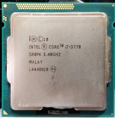{  電腦水水的店 }~  Intel Core i7-3770 CPU/LGA1155腳位/3.4GHZ特價$2300