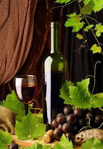 三幅一組油畫布 葡萄酒紅酒 畫芯/畫布/30X40☺暖暖屋☺傢居藝術館