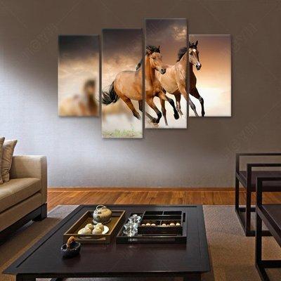 現代中式客廳裝飾畫辦公室掛畫中國風書房...