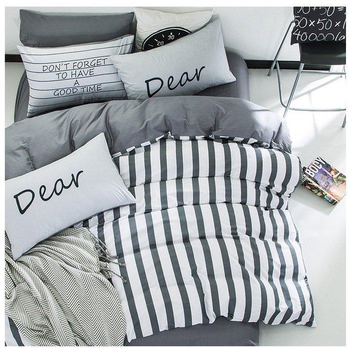 *暖暖本舖* 純棉 床包 四件組 有鬆緊帶 星空 無印良品 單人 雙人 被套 床單 枕頭套 工廠直營 北歐風