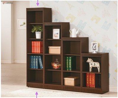 【浪漫滿屋家具】(Gp)550-13 胡桃色開放書櫃