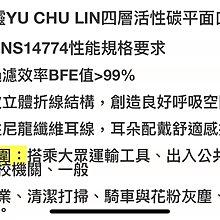 全聯專賣活性碳口罩YU Chu Lin謝金燕Apm家樂福dior