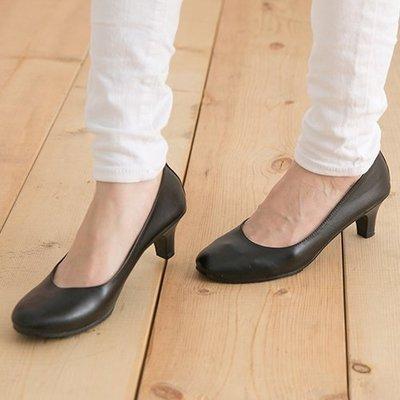 Ovan 女款 簡單素面上班面試必備5cm 高跟鞋 MIT製造