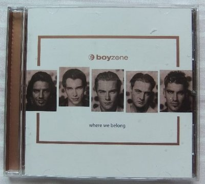 ◎1998-男孩特區-Boyzone-Boy zone-當我們同在一起專輯-WHERE WE BELONG-等17首好歌
