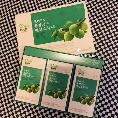 韓國 正官庄 西梅 紅蔘精 口服 濃縮液 7g X 30包