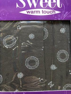 [全新] 蒂巴蕾 120D超細纖維天鵝絨 全彈性褲襪(泡泡女孩)--摩卡S~L號