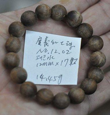 宋家苦茶油kanyuhuntoALL.1202廣義紅土奇楠17顆手珠12mm.超級無敵巨星..不香不要錢.沉水