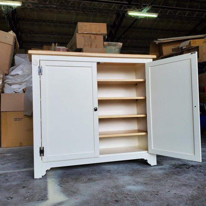 美生活館 鄉村風格 茵儷系列 雙門鞋櫃 收納櫃 玄關櫃 置物櫃 隔間櫃 家具訂製 客製化商品 無現貨可改尺寸