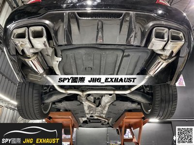 JHG_Exhaust M.Benz W204 C250 C300 中尾段閥門排氣管