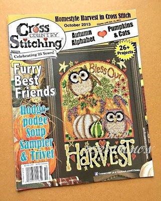 紅柿子【英文彩色版.Cross Stitching Ⓡ 2013十字繡作品集 】特售50元.