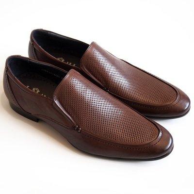 [零碼出清八折]鞋面沖孔樂福鞋:手工上...