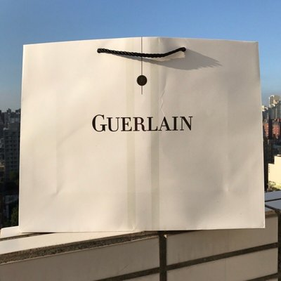GUERLAIN 嬌蘭 禮品袋 紙袋 禮盒袋 購物袋 手提袋 包裝袋 送禮袋 商用袋 卡片 信封