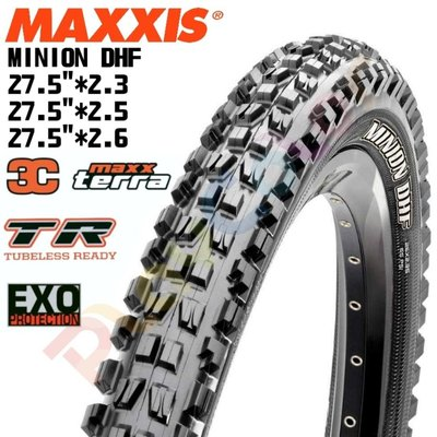 【MAXXIS MINION DHF 外胎 】可折胎 無內胎 27.5*2.3 2.5 2.6 登山車 下坡車