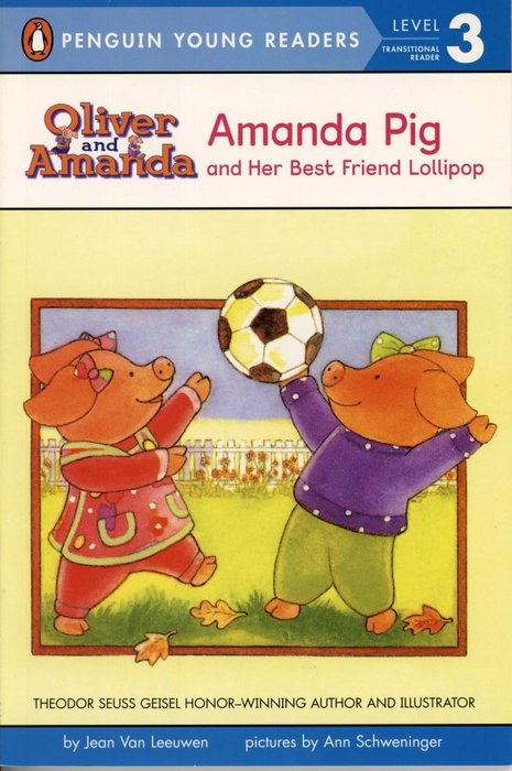 *小貝比的家*AMANDA PIG AND HER BEST FRIEND LOLLIPOP/ LEVEL3 平裝第三階