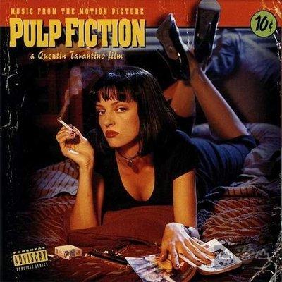 【黑膠唱片LP】黑色追緝令-電影原聲帶 Pulp Fiction ---1111031